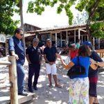 SECRETÁRIO DE TURISMO DA BAHIA VISITA BARRA GRANDE E OUVE COMUNIDADE