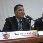 OPERAÇÃO CHAVE  E: VEREADOR TARCÍSIO PAIXÃO ESTÁ SEPARADOS DOS PRESOS  POR SER BACHAREL EM DIREITO