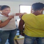MUTIRÃO DA SAÚDE ATENDE ATLETAS DO CENTRO DA CANOAGEM DE ITACARÉ