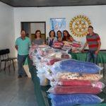 UBAITABA: ROTARY CLUB REALIZA CAMPANHA DO AGASALHO