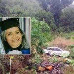EX- VICE PREFEITA DE GONGOGI MORRE EM ACIDENTE DE CARRO NA BR-101