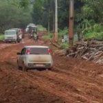 MARAÚ: LAMA, BURACOS E ENGARRAFAMENTOS NA  BR-030