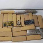 ITABUNA: POLÍCIA APREENDE 20 QUILOS DE MACONHA EM NOVA FERRADAS