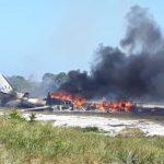 MARAÚ: QUEDA DE AERONAVE DEIXA UM MORTO E OITO FERIDOS ENTRE ELES UMA CRIANÇA