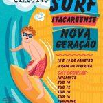 ITACARÉ REALIZA NO FINAL DE SEMANA A II  ETAPA DO CIRCUITO DE SURF