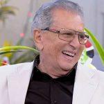 APRESENTADOR CARLOS ALBERTO DE NÓBREGA É INTERNADO COM INFECÇÃO GENERALIZADA
