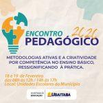 UBAITABA: SECRETARIA DE EDUCAÇÃO PROMOVERÁ ENCONTRO PEDAGÓGICO