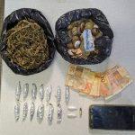 UBATÃ: 61ª CIPM/UBAITABA REALIZA PRISÃO EM FLAGRANTE DE TRÁFICO DE DROGAS