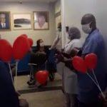 IDOSA  DE GANDÚ RECEBE ALTA APÓS  25 DIAS EM HOSPITAL DE ILHÉUS