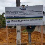 MARAÚ: PREFEITURA INICIA CONSTRUÇÃO USF DA FAMÍLIA NO POVOADO DE TABULEIRO