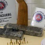UBATÃ: TRAFICANTE É PRESO NA ZONA RURAL DO MUNICÍPIO