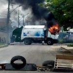 POLÍCIA MILITAR DERRUBA QUATRO APÓS INCÊNDIO A ÔNIBUS EM EUNÁPOLIS