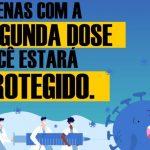 ITACARÉ REALIZA CAMPANHA SOBRE IMPORTÂNCIA DE TOMAR A SEGUNDA DOSE