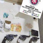 ITABUNA: DOIS BALEADOS, ARMAS E DROGAS APREENDIDAS NO JARDIM AMÉRICA