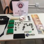 PM PRENDE CASAL ACUSADO DE TRÁFICO DE DROGAS EM BARRA GRANDE