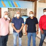 UBAITABA: BÊDA RECEBE REPRESENTANTE DA SUDESB NO CENTRO DE CANOAGEM
